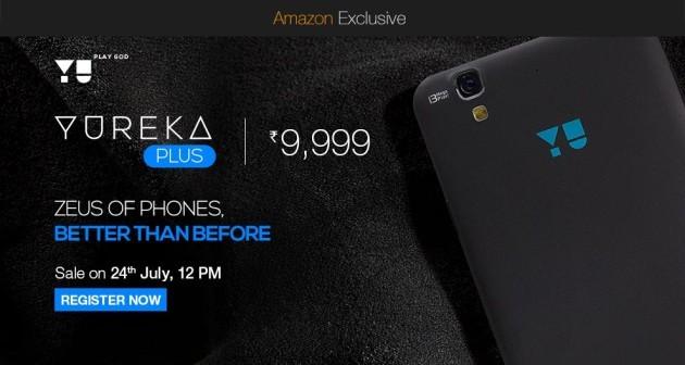 YU presenta il nuovo Yureka Plus: display Full HD e fotocamera rinnovata