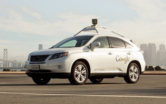 Google sta testando auto senza pilota in Texas