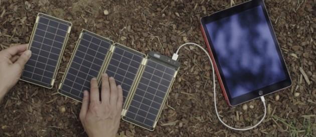 Solar Paper, il caricatore solare più leggero e compatto