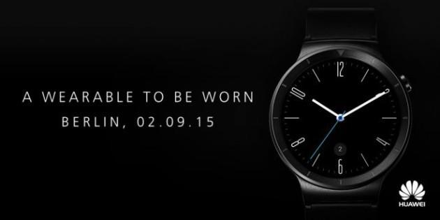 Huawei Watch: il lancio avverrà durante l'IFA ed è già in pre-ordine su Amazon USA
