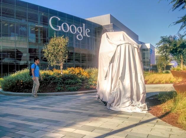 Google porta una nuova statua nel Googleplex: è Android Marshmallow
