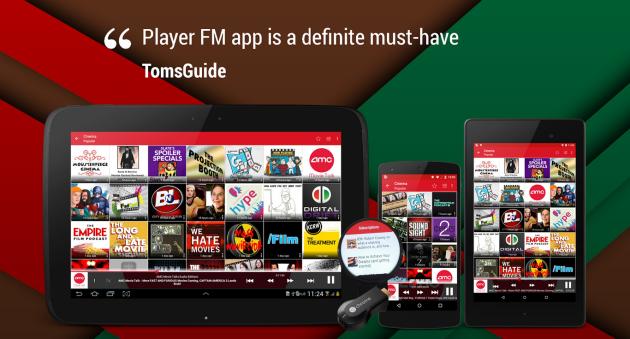 Player FM: riproduzione semplice ma non manca il disordine