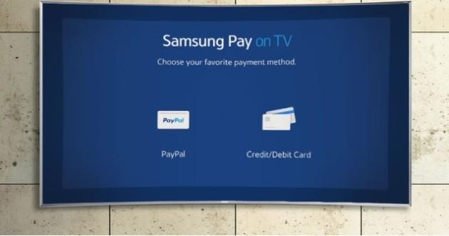Samsung Pay farà il suo debutto sulle Smart TV