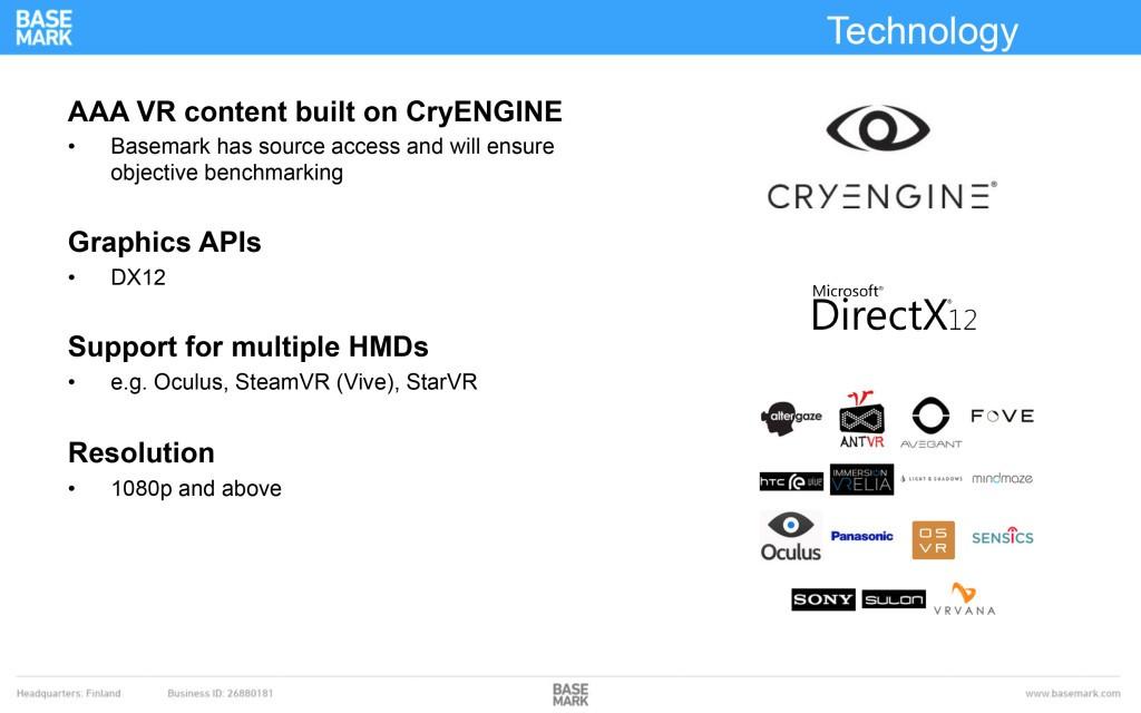 benchmark vr basemark cryengine crytek