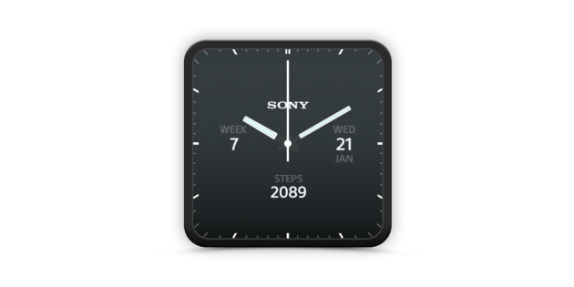 Sony SmartWatch 3 è ora supportato da una app per watch faces