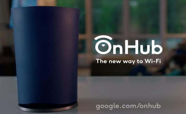 OnHub: ecco il nuovo router di Google