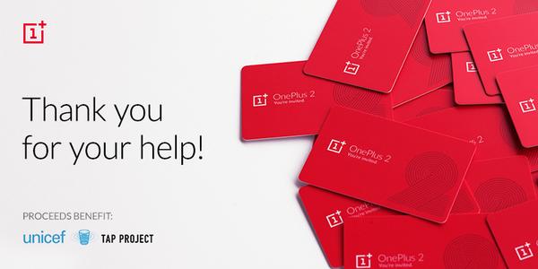 OnePlus: 70000$ raccolti per l'UNICEF