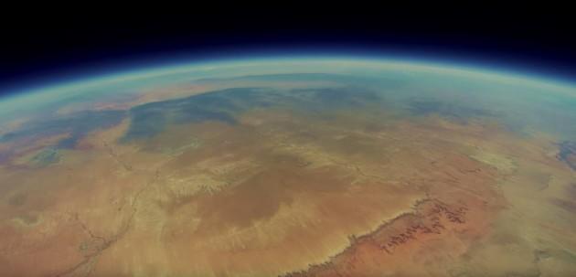 Samsung Galaxy Note 2 e GoPro: recuperato dopo 2 anni il video del viaggio nella stratosfera