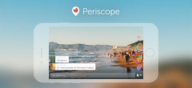 Periscope si aggiorna e supporta video in landscape