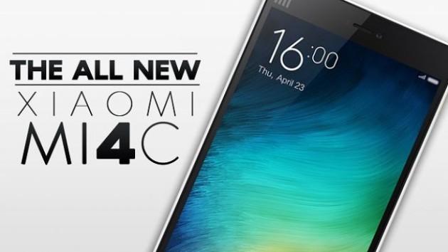 Xiaomi Mi 4C: presentazione ufficiale il 22 Settembre