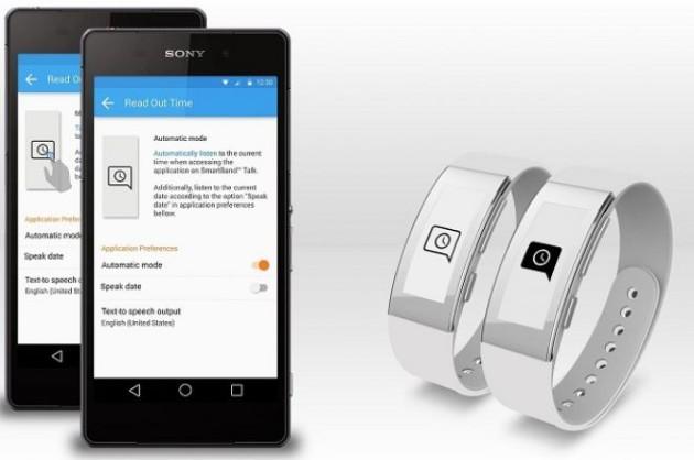 Sony SmartBand Talk vi dirà anche l'ora con un tap