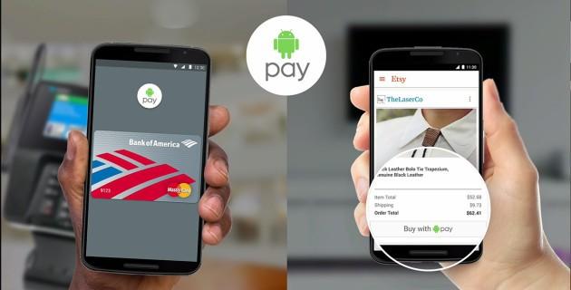 Android Pay già in funzione ma solo in USA grazie ad un trucco