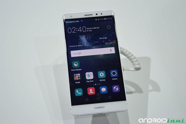IFA 2015: Huawei Mate S presentato ufficialmente