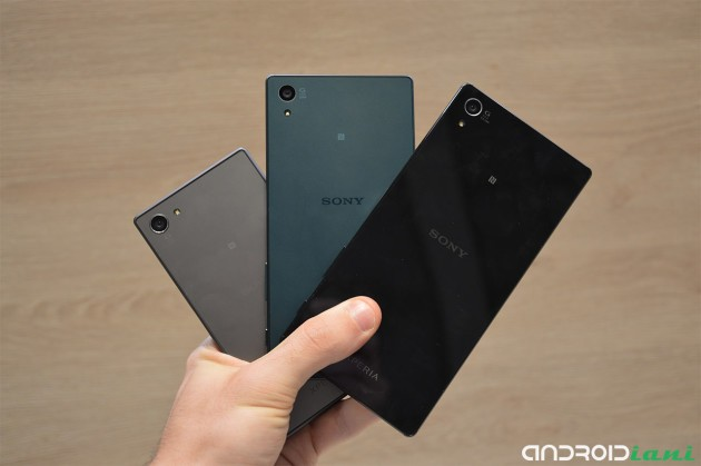 Sony Xperia Z5, Z5 Compact e Z5 Premium ufficiali [UPDATE: Hands On]