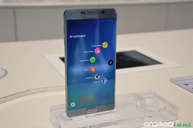 Samsung Galaxy Note 5 e Galaxy S6 Edge +: le nostre impressioni da IFA 2015