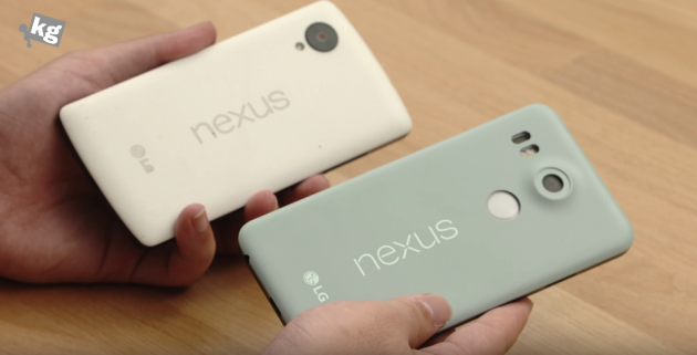 Nexus 5X: un prototipo ne mostra il design definitivo durante un hands-on