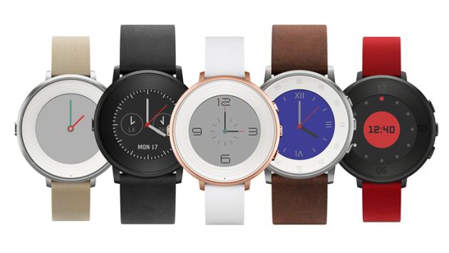Pebble Time Round: nuovo smartwatch dal display circolare e 2 giorni di autonomia