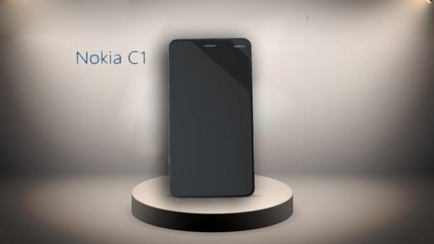 Il primo vero Android targato Nokia, il C1, si mostra in alcuni graziosi render