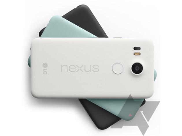 LG Nexus 5X: nuovi render e specifiche confermate da Amazon India
