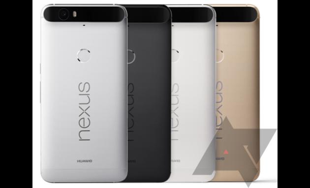 Nexus 6P: nuove immagini rivelano i colori ufficiali