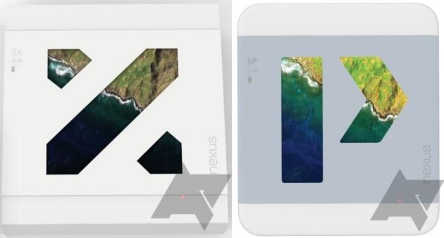 Nexus 5X e Nexus 6P: le confezioni di vendita confermano i nomi