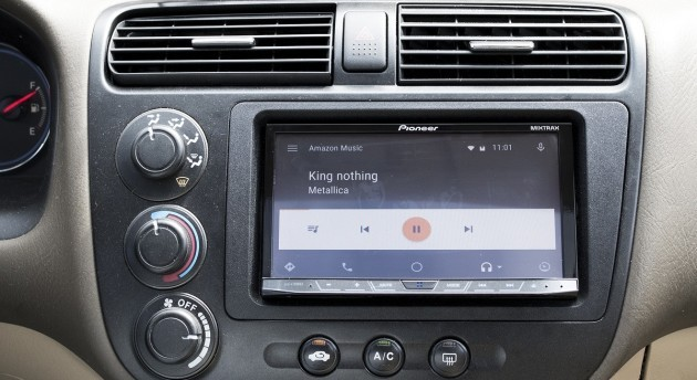 Amazon Music ora disponibile per Android Auto