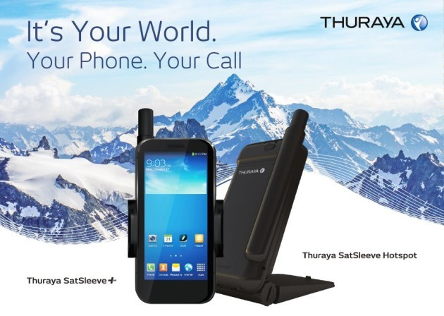 Thuraya SatSleeve trasforma lo smartphone in un telefono satellitare