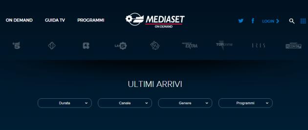 Mediaset annuncia lo streaming in diretta dei propri canali anche su Android