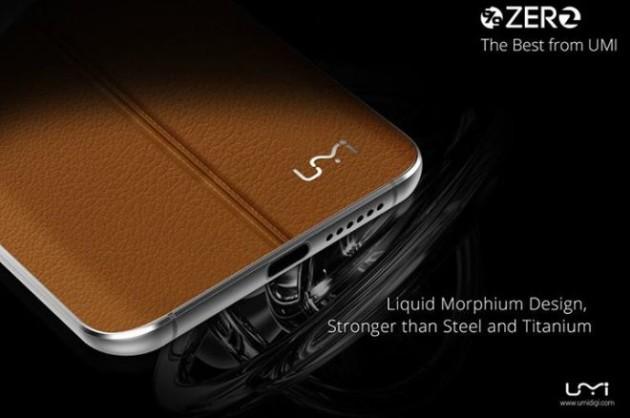 UMI Zero 2 avrà un corpo in Liquid Morphium e 4GB di RAM