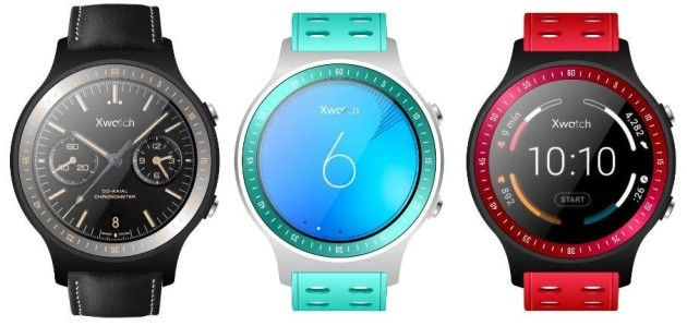 Bluboo Xwatch: smartwatch Android Wear made in China