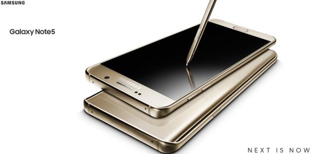Samsung Galaxy Note 5: nuovo update software migliora la durata della batteria