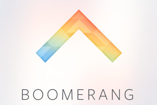 Boomerang: nuova applicazione da Instagram per realizzare simpatici video