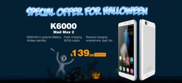 Oukitel K6000: da oggi in pre-ordine a 139$