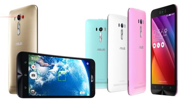 ASUS Zenfone 2 Laser e Selfie: i display sono a prova di sushi
