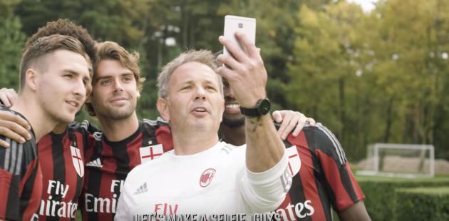 Huawei Mate S, ecco lo spot con Mihajlovic e alcuni calciatori del Milan