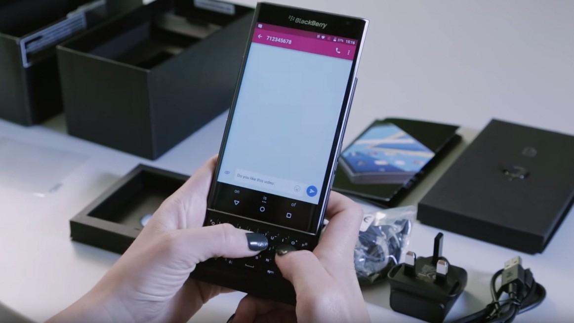 BlackBerry Priv ecco il primo video unboxing