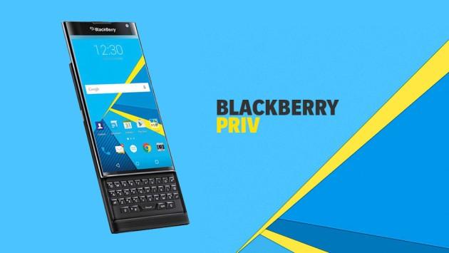 BlackBerry Priv riceve il suo primo aggiornamento