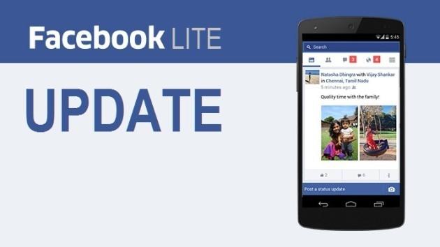 Facebook Lite: arriva un nuovo aggiornamento - DOWNLOAD