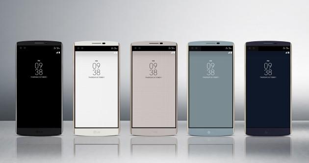 LG V10 è ufficiale: il top-gamma con doppio display e doppia fotocamera frontale