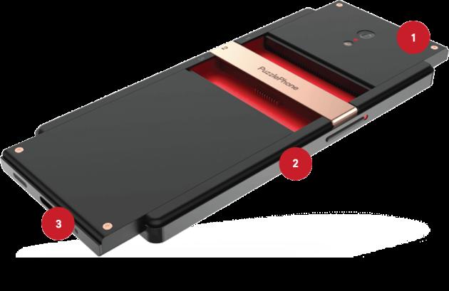 Puzzlephone, un nuovo smartphone modulare al debutto su Indiegogo