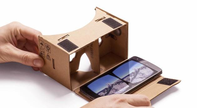 Cardboard Camera: Google ci porta