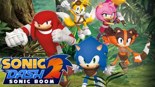 Sonic Dash 2: Sonic Boom approda su Android!