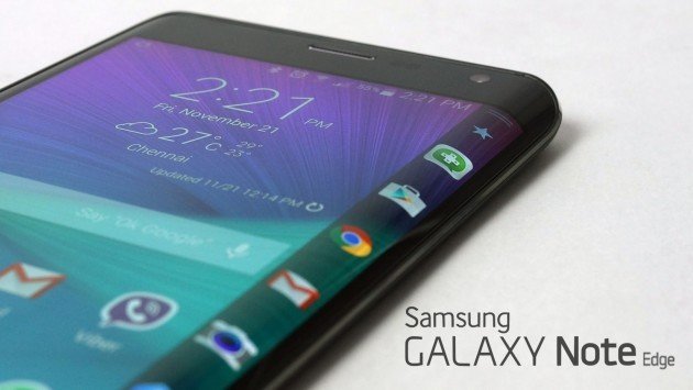 Samsung Galaxy Note Edge riceve Android 5.1.1