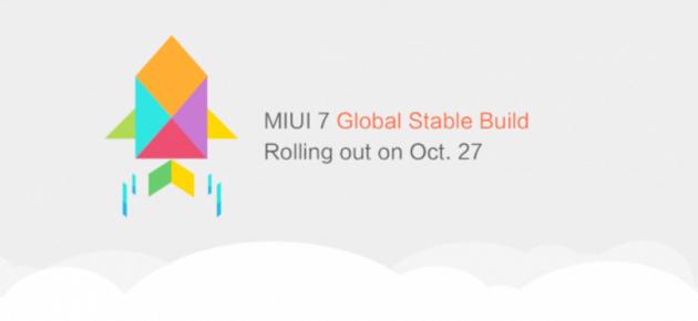 Xiaomi, via al roll-out globale della MIUI 7 in versione stabile