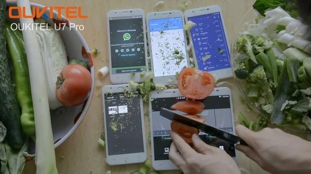 Oukitel U7 Pro protagonista di un nuovo test di resistenza
