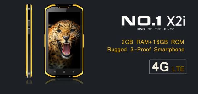 No.1 - ecco X2I, il nuovo smartphone rugged