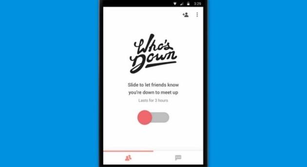 Who's Down: nuova applicazione Google disponibile in USA