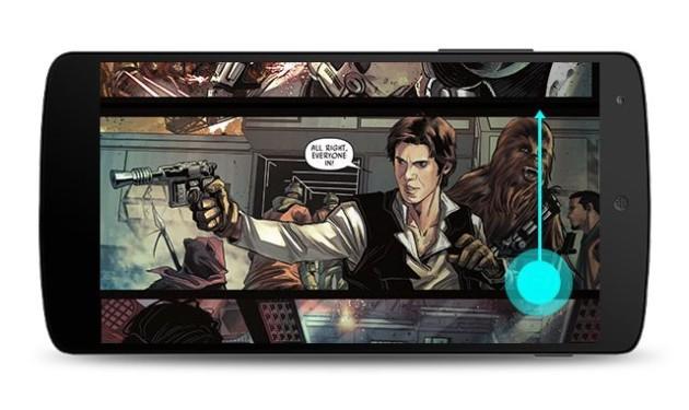 Google Play Libri si aggiorna avvicinandosi al mondo dei fumetti