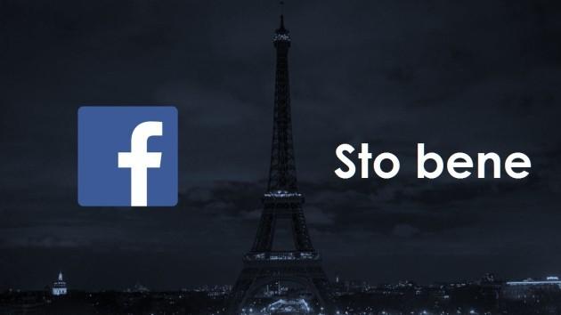 Facebook: dopo la notte di Parigi è attivo il servizio Sto bene