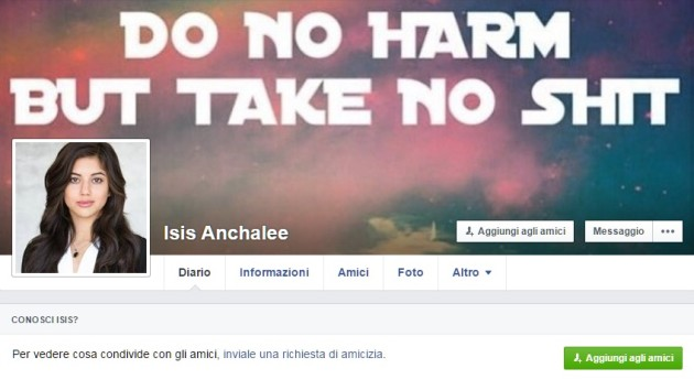 Facebook: il tuo nome è Isis? Ti blocchiamo l'account